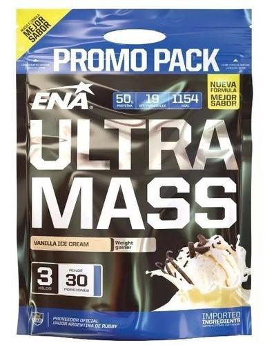 Ultra Mass Ena X 3 Kg - Ganador De Peso Promo X2 Unidades