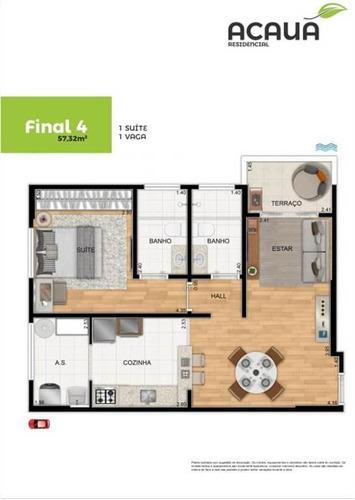 Imagem 1 de 9 de Apartamento - Venda - Campo Da Aviação - Praia Grande - Ter75