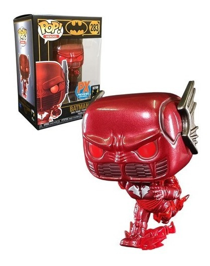 Funko POP w//Protector Case FLASH DC Heroes ~ BATMAN: THE RED DEATH PX #283