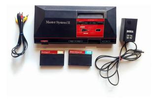 Sega Master System Tectoy + 2 Juegos + Pistola