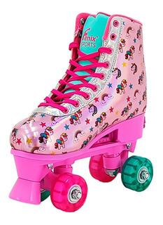 Patins Roller Yupi Infantil Menina Menino Ajustável Yupitoys