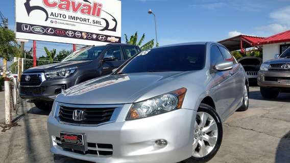 Honda Accord V6 Exl Gris 2008