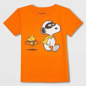 Playera De Snoopy Para Niño