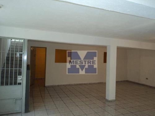 Salão À Venda, 256 M² Por R$ 900.000,02 - Vila Augusta - Guarulhos/sp - Sl0033