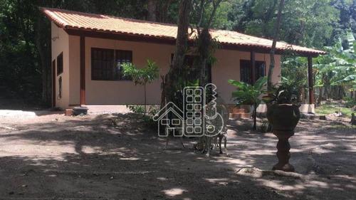 Sítio Com 2 Dormitórios À Venda, 4500 M² Por R$ 400.000,00 - Itaocaia Valley (itaipuaçu) - Maricá/rj - Si0029