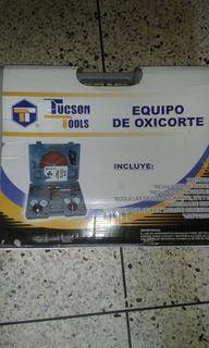 Equipo De Oxicorte Tipo Harris Tucson Tools Valor 215 Vrdes