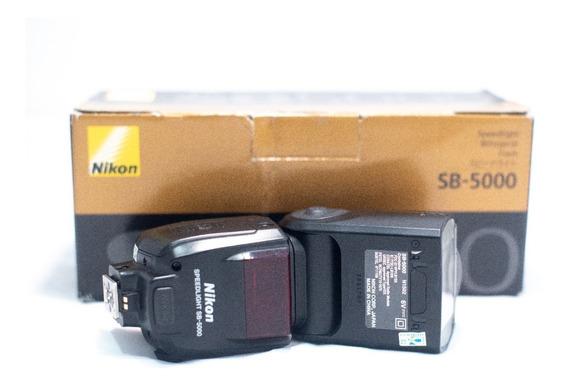 Flash Speedlight Nikon Sb-5000 Impecável