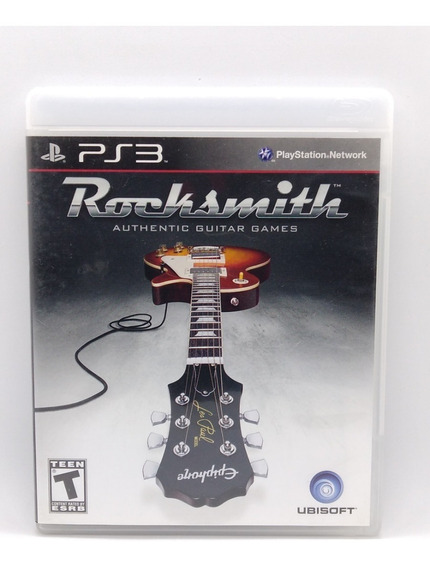 Rocksmith Ps3 Midia Fisica Jogo Game Play 3 Playstation