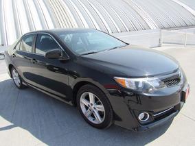 Toyota Camry Se 2012 Negro Comonuevo 3 Años Garantia Credito