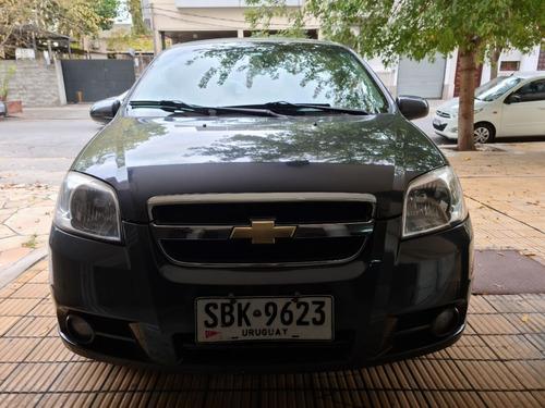Chevrolet Aveo Lt Full Con Alarma Y Lamina De Seguridad