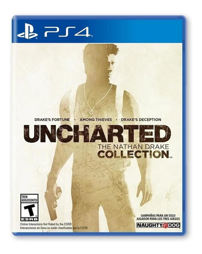 Imagen 1 de 4 de Uncharted: The Nathan Drake Collection - Playstation 4
