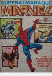 Superalmanaque Marvel Nº 01 / Formatinho Rom - X-men - Quar
