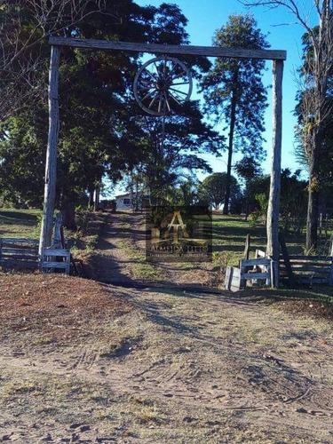 Excelente Fazenda Para Venda Em Presidente Alves - Sp - Confira!!!! - Fa0034