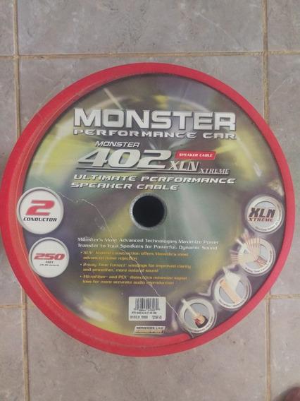 Monster 402 Xln Xtreme Speaker Cable Cabo De Áudio Subwoofer