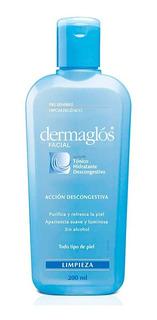 Dermaglós Facial Tónico Hidratante Descongestivo Purificante Refrescante Pieles Sensibles