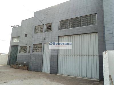Barracão Comercial Para Locação, Parque Industrial, Campinas. - Ba0425