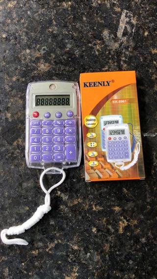 Kit Com 10 Calculadora Kk-8961 Nova Com Nfe E Garantia