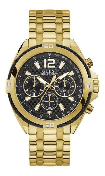 Relógio Guess Masculino Dourado 92733gpgsda5