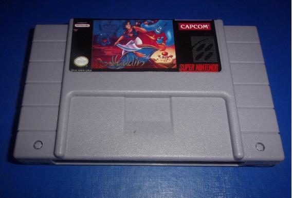 Aladdin Super Nintendo (paralelo Novo)