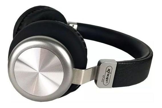 Fone Com Microfone Bluetooth Kp-452 - Super Bass - Potente