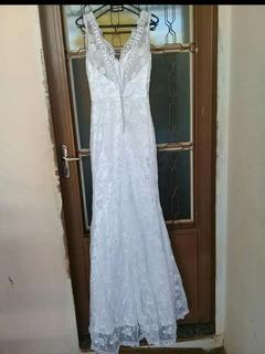 Vestido De Noiva Modelo Sereia Todo Em Renda