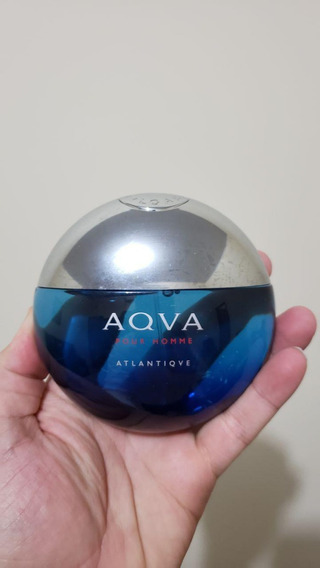 Aqua Atlantique Edt 100 Ml Masculino Bvlgari Aqva Atlantiqve