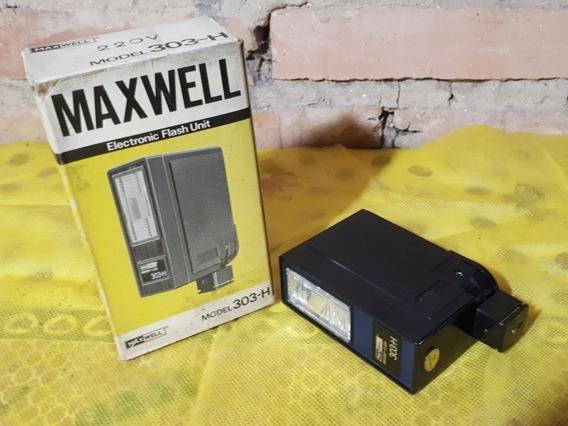 Flash P/ Camera Maquina Fotografica Antiga Marca Maxwell