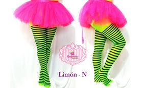 Malla Rayada Hallowen Disfraz Lolita Moda Japonesa + Envio