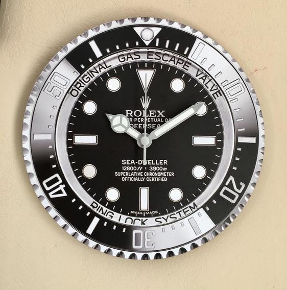 Relógio De Parede Rolex Submariner Sea Dweller