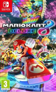 Mario Kart 8 Deluxe Nintendo Switch Juego Fisico Sellado