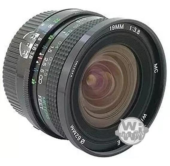 Objetiva Vivitar Mf 19mm F:3.8 Ai-s (nikon)