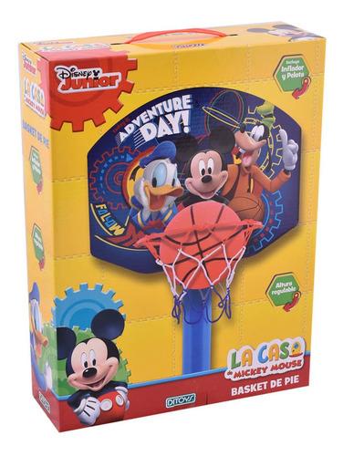 Imagen 1 de 3 de Mickey Basket De Pie Ditoys Disney