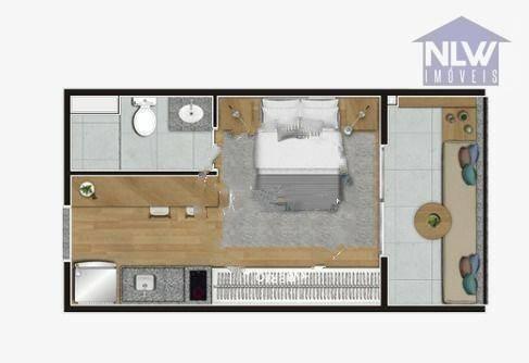 Imagem 1 de 16 de Studio Com 1 Dormitório À Venda, 24 M² Por R$ 311.000,00 - Campo Belo - São Paulo/sp - St0230