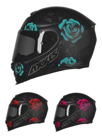Capacete Axxis Eagle Flores