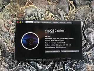 Mac Mini Semi Nueva Con Caja Incluye Magic Pad Y Usb Drive