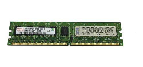 Imagem 1 de 1 de Memoria 2gb Ecc Pc2-6400e Ibm Eserver Xseries 100 206m 306m