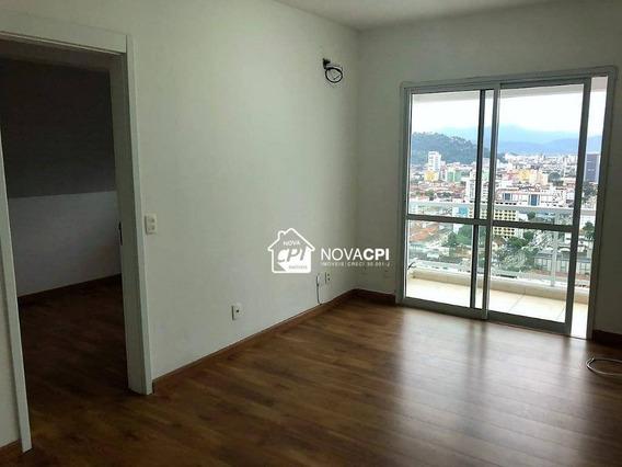Flat Com 1 Dormitório Para Alugar, 48 M² Por R$ 2.300,00/mês - Boqueirão - Santos/sp - Fl0008