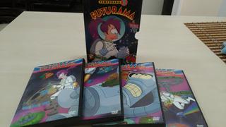 Temporada 3 Futurama Original Dvd + Pelicula Impecables!