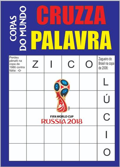 Revista Copa Do Mundo Cruzza Palavra Atacado 100 Un