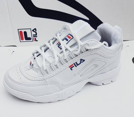 Zapatillas Fila Disruptor 2 Talles 26 Al 43 Promoción Mlibre