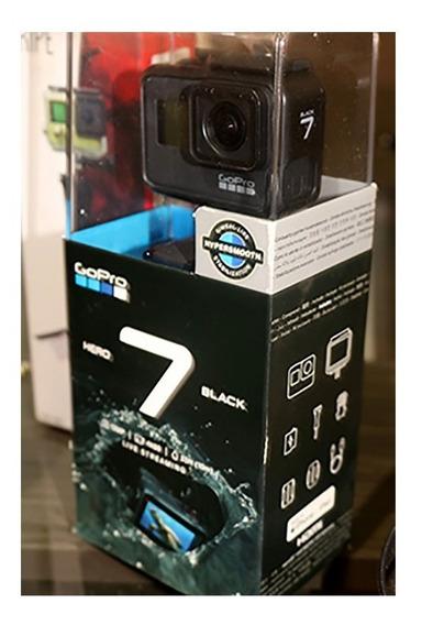 Gopro Hero 7 Black + Cartão 64gb + Carregador + Acessorios