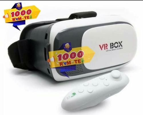 Imagen 1 de 3 de Kit Completo De Gafas Vr Box + Control Remoto Juegos En 3d