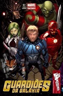 Hqs Guardiões Da Galáxia V3 #00.1 A #01
