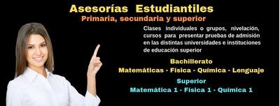 Asesorías Estudiantiles ( Clases Particulares )