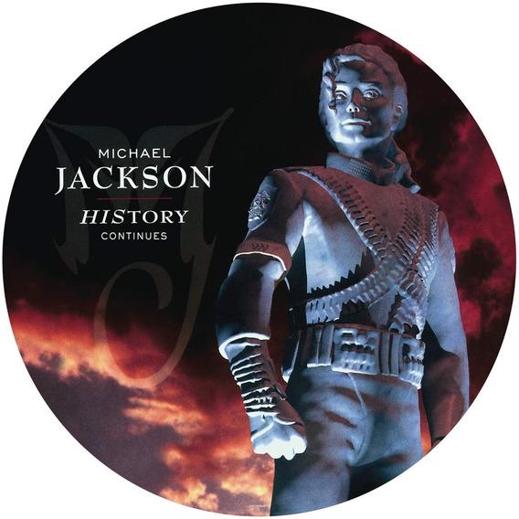 Michael Jackson History Continues Vinilo Doble Pict Disc Imp