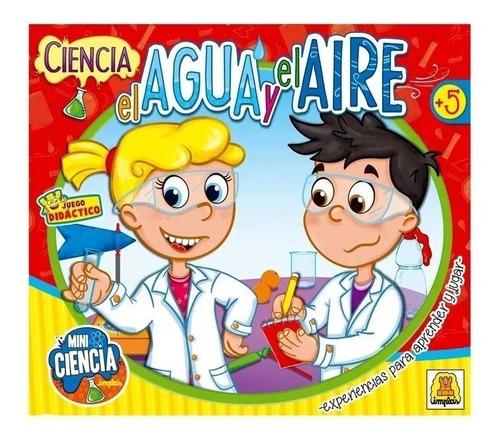 Juego De Ciencia El Agua Y El Aire Infantil 382 Implas Edu