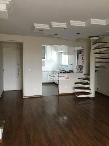 Cobertura À Venda, 155 M² Por R$ 1.300.000,00 - Ipiranga - São Paulo/sp - Co0042