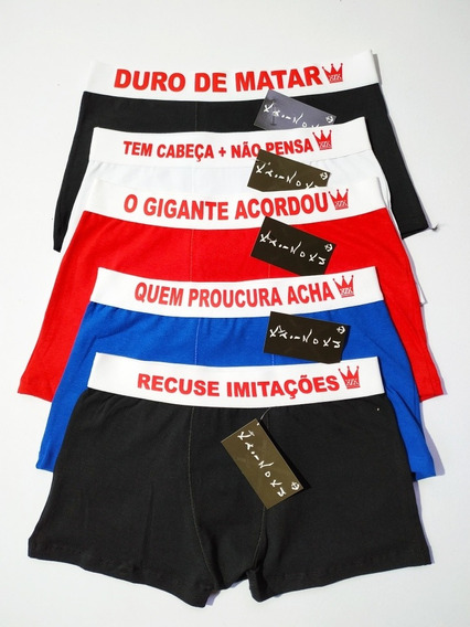 Kit 10 Cuecas De Frases Divertidas Exclusiva Envio Rapido E Gratis Aproveite Preço Promocional 129,5 Em 12x Sem Juros!!