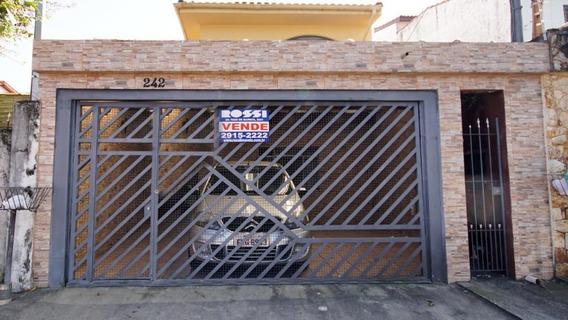 Sobrado Com 4 Dormitórios À Venda, 177 M² Por R$ 595.000 - Vila Prudente - São Paulo/sp - So1244