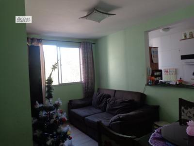 Apartamento A Venda No Bairro Parque São Vicente Em Mauá - - 2286-1